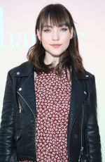 VIOLETT BEANE at Harper's Bazaar Party in Los Angeles 04/26/2017