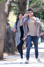 WILLOW SMITH and Tyler Cole Out in Los Angeles 04/09/2017