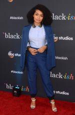 YARA SHAHIDI at Black-ish TV Show Screening in Los Angeles 04/12/2017