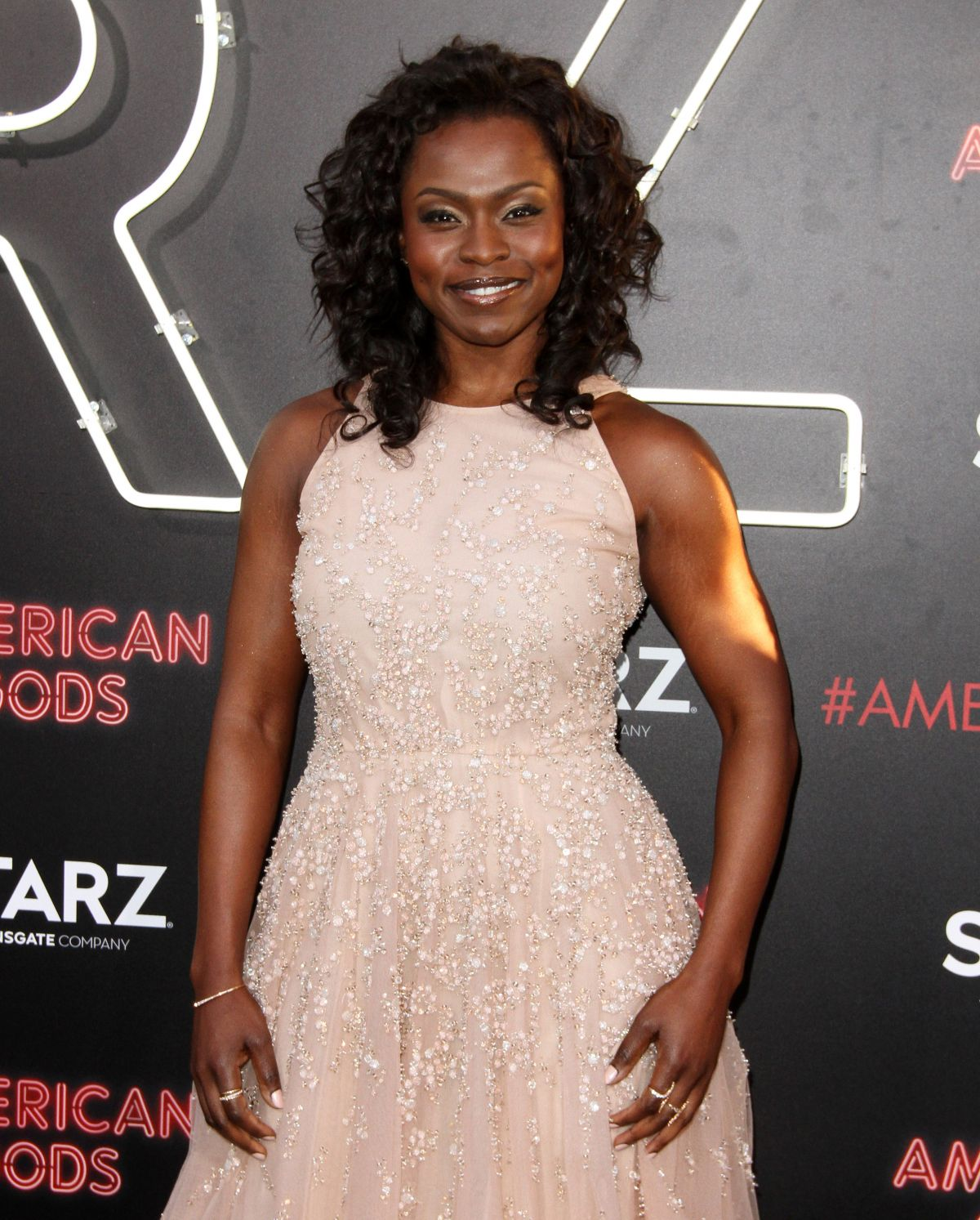 YETIDE BADAKI at American Gods Premiere in Los Angeles 04/20/2017