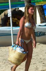 ZARA HOLLAND in Bikini at a Beach in Barbados 04/06/2017