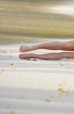 ZARA HOLLAND in Bikini on the Beach in Barbados 04/04/2017