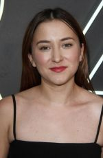 ZELDA WILLIAMS at American Gods Premiere in Los Angeles 04/20/2017