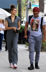 ZENDAYA COLEMAN Out and About in Los Angeles 04/26/2017