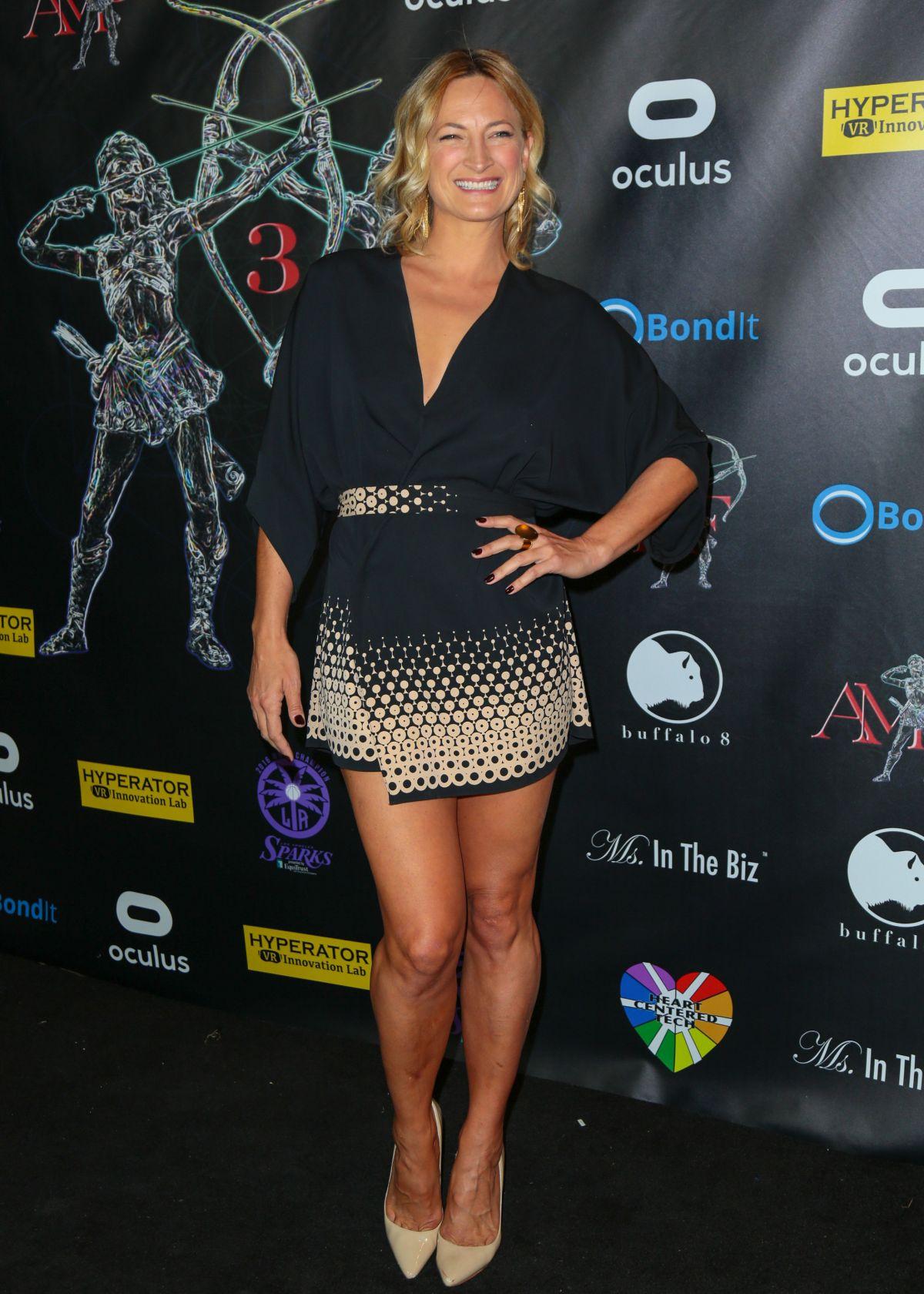ZOE BELL at Artemis Women in Action Film Festival Gala in ...
