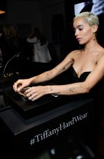 ZOE KRAVITZ at Tiffany and Co. Hardwear Event in Los Angeles 04/26/2017