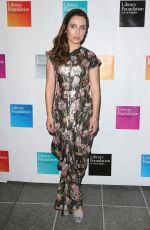 ZOE LISTER JONES at Young Lliterati Toast Event in Los Angeles 04/04/2017