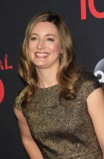 ZOE PERRY at Scandal 100th Episode Celebration in Los Angeles 04/08/2017