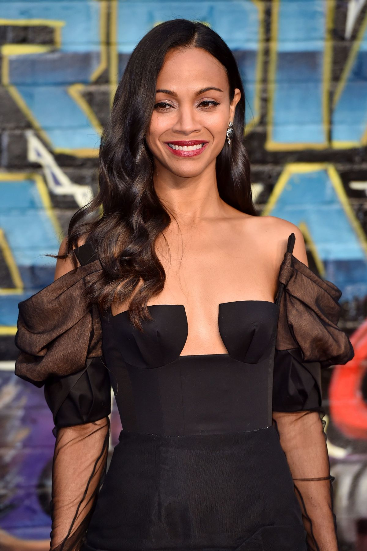 ZOE SALDANA at Guardians of the Galaxy Vol. 2 Premiere in ... Zoe Saldana