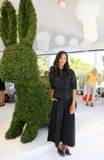 ZOE SALDANA at Victoria Beckham for Target Garden Party in Los Angeles 04/01/2017