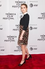 ZOEY DEUTCH at Flower Screening at 2017 Tribeca Film Festival in New York 04/20/2017