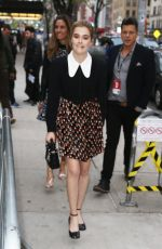 ZOEY DEUTCH Out and About in New York 04/20/2017