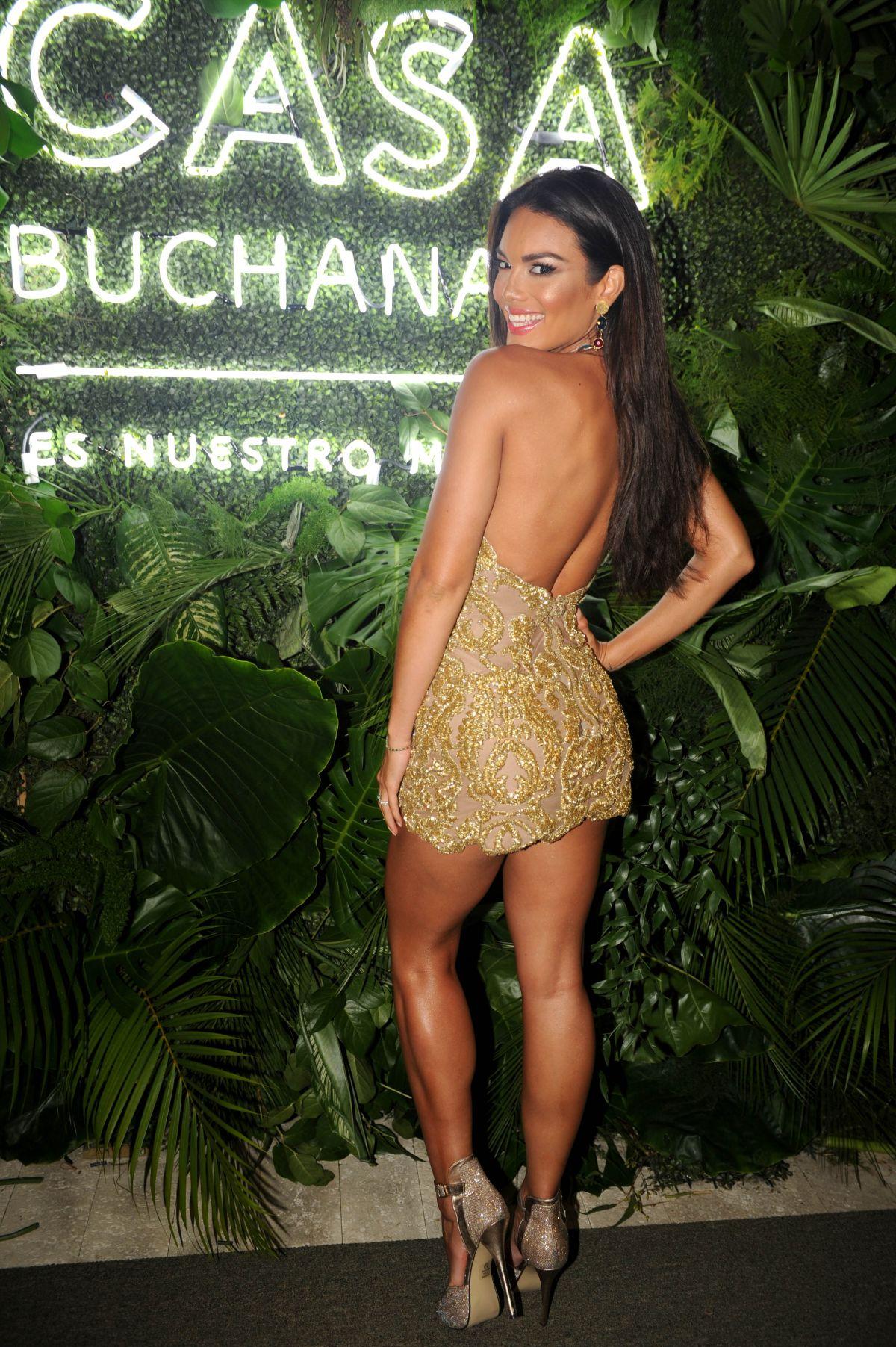 Zuleyka Rivera Casa Buchanan Latin Billboards Kickoff Party Key Biscayne Demi Lovato Love