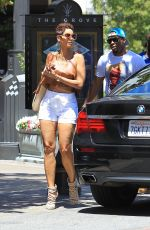 NICOLE MURPHY Out Shopping at The Grove in Los Angeles 05/20/2017