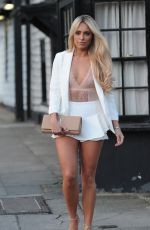 AMBER TURNER and MEGAN MCKENNA Out for Dinner in Essex 05/13/2017