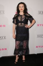 ABBY QUINN at Nylon Young Hollywood May Issue Party in Los Angeles 05/02/2017
