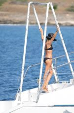 ABIGAIL ABBEY CLANCY in Bikini for Britain's Next Top Model on a Yacht in Cape Verde 05/10/2017