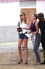 ABIGAIL ABBEY CLANCY on the Set of Britain's Next Top Model in Cape Verde 05/09/2017