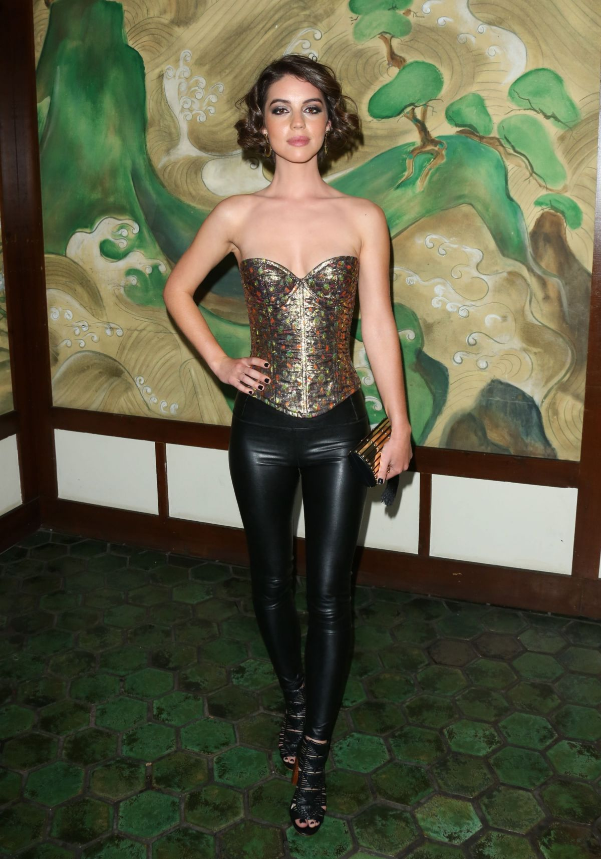 ADELAIDE KANE at Wolk Morais Collection 5 Fashion Show 05/22/2017