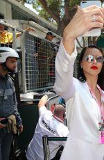ADRIANA LIMA and CARMEN JORDA at Monaco Formula One Grand Prix in Monaco 05/28/2017