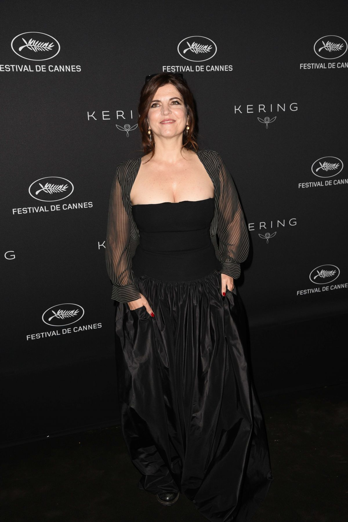 AGNES JAOUI at Women in Motion Awards Dinner at 2017 Cannes Film Festival 05/21/2017