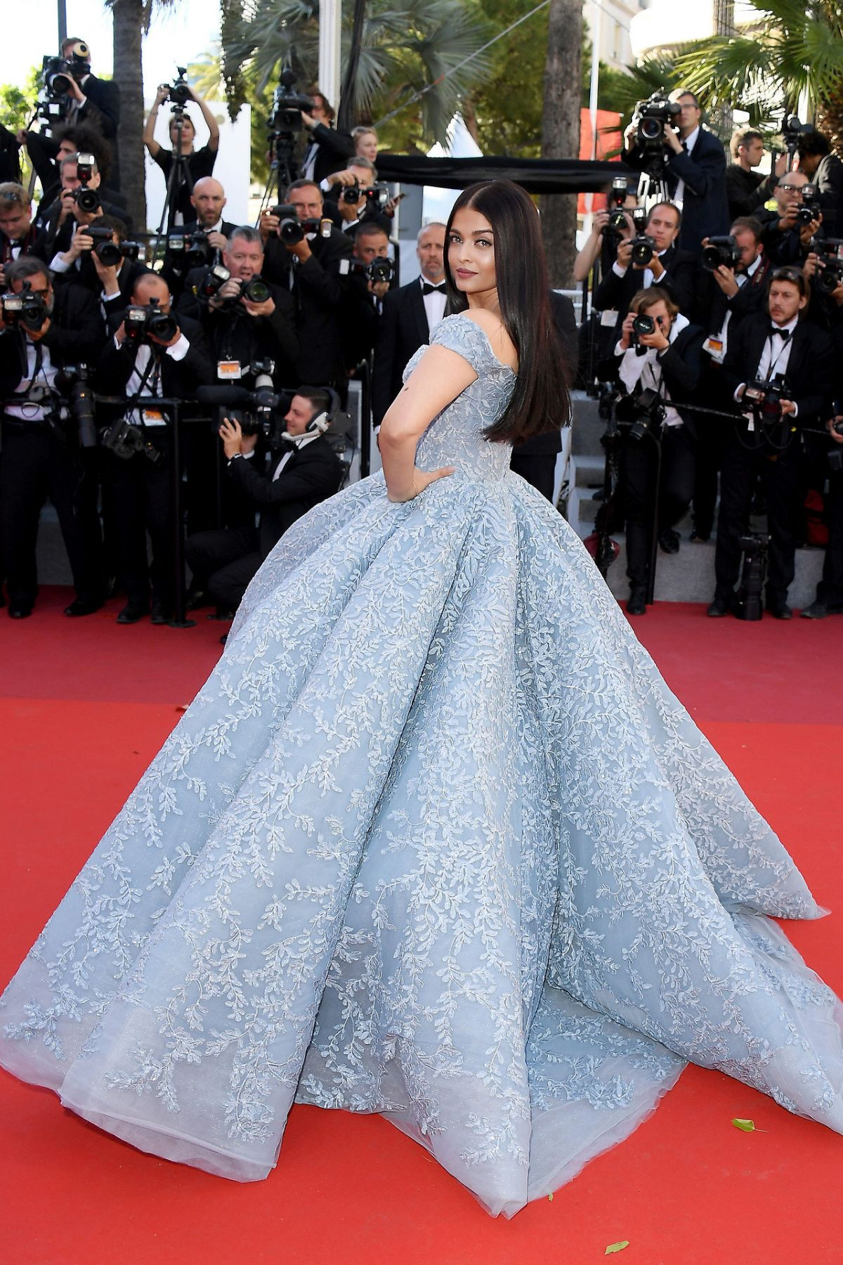 AISHWARYA RAI at Okja Premiere at 70th Annual Cannes Film Festival 05/19/2017