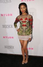 AJIONA ALEXUS at Nylon Young Hollywood May Issue Party in Los Angeles 05/02/2017