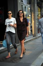 ALENA SEREDOVA Out Shopping in Milan 05/17/2017