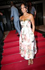 ALESHA DIXON Arrives at British LGBT Awards in London 05/12/2017