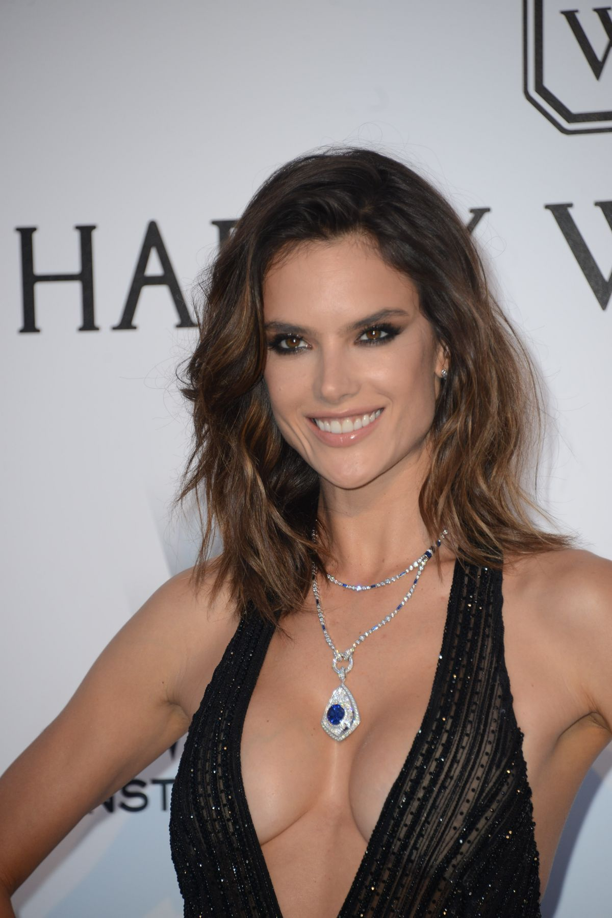 alessandra ambrosio at amfar s 24th cinema against gala at