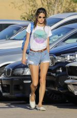 ALESSANDRA AMBROSIO in Cut Off Out in Malibu 04/30/2017