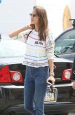 ALESSANDRA AMBROSIO in Jeans Out in Malibu 05/29/2017