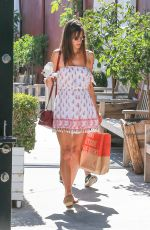 ALESSANDRA AMBROSIO Out and About in Brentwood 05/02/2017