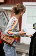 ALESSANDRA AMBROSIO Out and About in Brentwood 05/05/2017