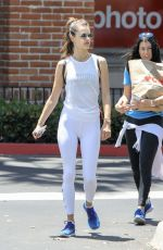 ALESSANDRA AMBROSIO Out and About in Malibu 05/28/2017
