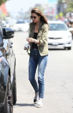 ALESSANDRA AMBROSIO Out and About in West Hollywood 05/12/2017