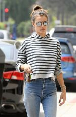 ALESSANDRA AMBROSIO Out in Los Angeles 05/30/2017
