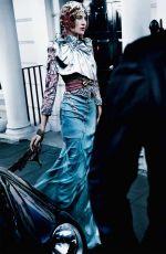 ALEXA CHUNG in Vogue Magazine, June 2017