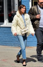 ALEXA CHUNG Out and About in New York 04/05/2017