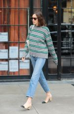 ALEXA CHUNG Out and About in New York 05/01/2017