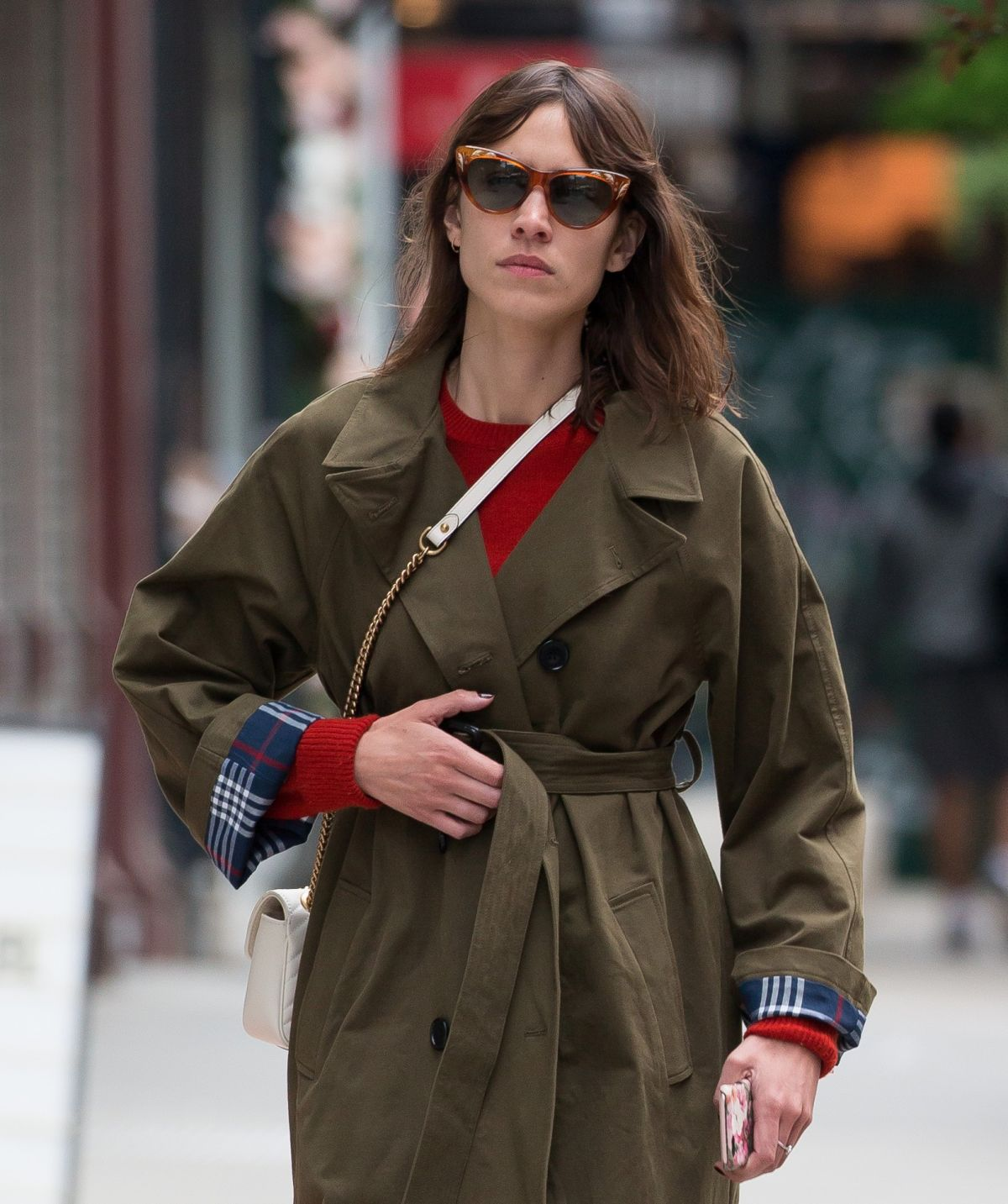 ALEXA CHUNG Out in New York 05/03/2017