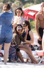 ALEXANDRA DADDARIO and PRIYANKA CHOPRA Out on Miami Beach 05/12/2017