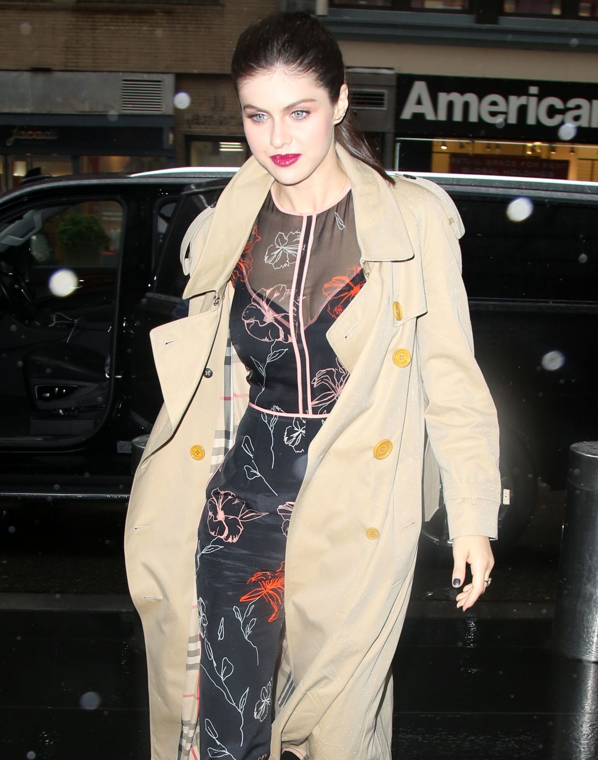 ALEXANDRA DADDARIO Arrives at AOL Live in New York 05/25/2017