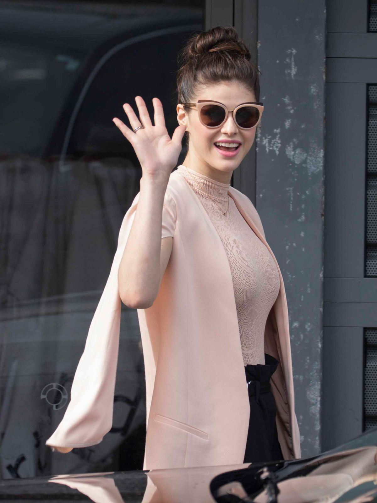 ALEXANDRA DADDARIO Arrives at Bondi Beach in Sydney 05/19/2017