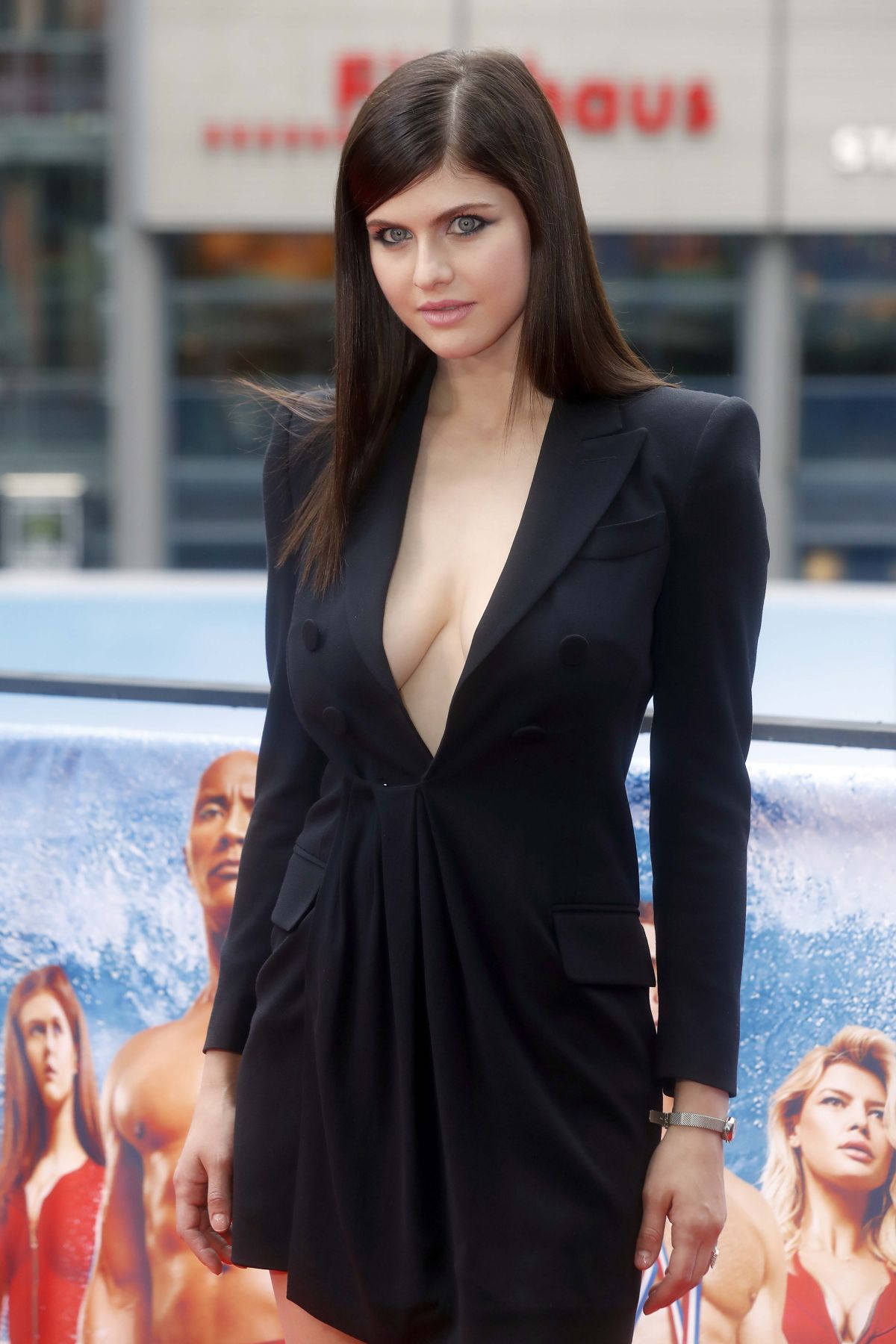 ALEXANDRA DADDARIO at Baywatch Photocall in Berlin 05/30/2017