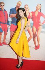 ALEXANDRA DADDARIO at Baywatch Premiere in Sydney 05/18/2017