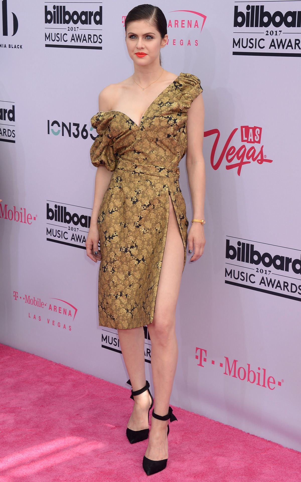 ALEXANDRA DADDARIO at Billboard Music Awards 2017 in Las Vegas 05/21/2017