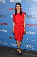 ALEXANDRA DADDARIO at Cinema Society Baywatch Screening in New York 05/22/2017