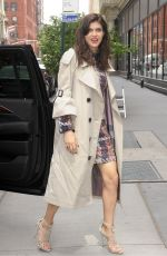 ALEXANDRA DADDARIO Leaves Her Hotel in New York 05/24/2017