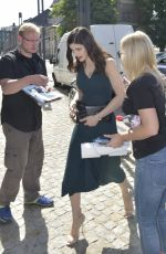 ALEXANDRA DADDARIO Out and About in Berlin 05/29/2017
